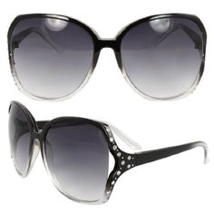 MLC Eyewear TU9240BKCLPB Butterfly Fashion Sunglasses Black and Clear 2tone Frame Enchanted with Rhinestone Purple Black Lenses. MLC Eyewear, http://www.amazon.com/dp/B0097HX450/ref=cm_sw_r_pi_dp_WRv8qb0BGPYGE