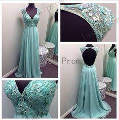 Custom Made A line Chiffon Long Prom Dresses, Bridesmadi Dresses, Evening Dresses, Formal Dresses, Wedding Party Dresse