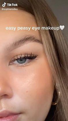 Makeup Tutorial Eyeliner, Makeup Looks Tutorial, Eyebrow Makeup, Skin Makeup, Beauty Makeup, Natural Makeup Look Tutorial, Edgy Makeup, Makeup Eye Looks, Pretty Makeup