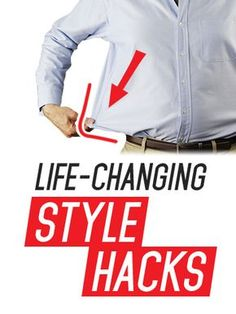 10 Simple Life Hacks For The Sharp Dressed Man