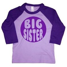 lavender Sister Shirts, Toddlers, Lavender, Sisters, My Love, Big, Tees, Heart, Products