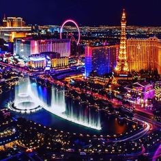 Las Vegas is the most beautiful and most loved city in the United States of America. The city is the country's populated city. The city is also known as 'Vegas' at times. It is famous for its neon lights … Las Vegas Vacation, Las Vegas City, Travel Vegas, Mandalay, City Aesthetic, Dream Vacations, Usa Travel, Luxury Travel, United States