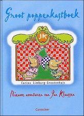 Groep 4 & 5. Tien uitgewerkte teksten voor poppenkastspelen, waarin Jan Klaassen en Katrijn de hoofdrollen spelen. Met informatie over het bouwen van een kast, het maken van poppen e.d. Met enige zwart witte tekeningen met een blauwe steunkleur.