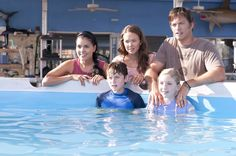 Nathan Gamble, Ashley Judd, and Harry Connick Jr. in Dolphin Tale (2011) Movie Image | BeyondHollywood.com