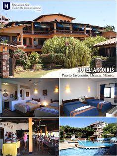 HOTEL ARCOIRIS Puerto Escondido, Oaxaca, México. www.hotelesdepuertoescondido.com/hotelarcoiris.html #puertoescondido #oaxaca #hoteles