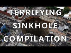 ▶ TERRIFYING SINKHOLE COMPILATION - 2010 to 2014 - YouTube