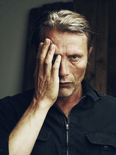 You and me Mads got cheekbones for days! :)  RF