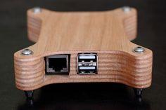 Raspberry Pi - PlyPi - Case (Ethernet/USB) by spw82, via Flickr