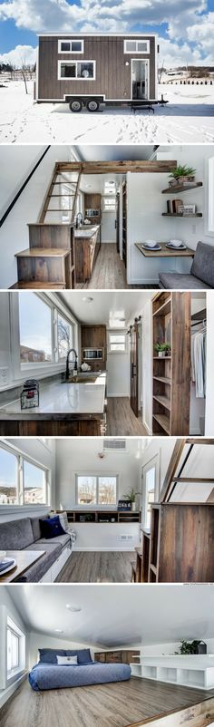 The Cocoa: a 20' tiny home from Modern Tiny Living