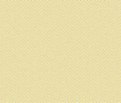 Art Deco Chevron, Gold fabric by magentayellow on Spoonflower - custom fabric
