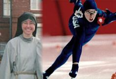 From Olympic speed skater to religious sister. Sister Catherine Holum decided to leave her glittering career as a world class speed skating champion and embrace a religious vocation instead: http://www.news.va/en/news/from-olympic-skater-to-religious-sister