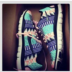 AZTEC NIKES. Need these!!!