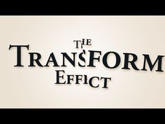 Easy Glitches (The Transform Effect) - Adobe After Effects tutorial - YouTube