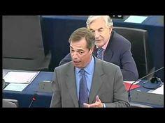 """Eurodiputado: """"Rajoy es el líder más incompetente de toda Europa"""" N.Farage"""