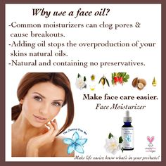 www.thechemicalfreeme.com  Oil as a moisturizer? Yes-the right ouls are perfect! #organicskincare #facial #facemoisturizer #acneproblems #acnescars #skincare #allnaturalbeauty #plantbased #loveyourskin #exfoliate #allnatural #organic #momlife #momhumor #crueltyfree #vegan #essentialoils #allnaturalskincare #beautytips #beautyproduct #chemicalfree #nontoxic #veganskincare #nontoxicskincare #shopsmall #shopsmallbusiness #etsy #antiaging #healthyskin #moisturizer