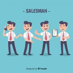 Salesman collection in different positions Free Vector Web Design Tips, Free Design, Life Insurance License, Character Flat Design, Chibi Body, Free Characters, Quilling Designs, Vector Design, Cute Art