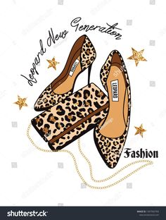 leopard design print vector Fashion Illustration Face, Animal Print Wallpaper, Fashion Wall Art, Shoe Art, Fashion 2020, Chicago, Ideias Fashion, Print Design, Graphic Tees