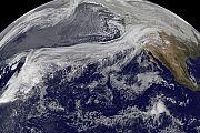 Ein kontinuierliches Wolkenband vom Pazifik versorgte Kalifornien während der letzten Tage mit ergiebigem Dauerregen - und linderte dadurch die extreme Dürre, die den US-Bundesstaat zuletzt im Griff hielt (Archivbild aus dem Jahr 2010).