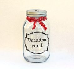 Cute way to have the kids save up for our next vacation. Then they can have money to spend.