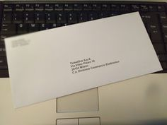 Come stampare le etichette su una busta da lettera...