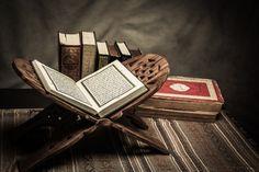 Koran - holy book of muslims ( public item of all muslims ) on the table Premium Photo Ways Of Learning, Learning Arabic, Laylat Al Qadr, Tajweed Quran, Online Quran, Quran Recitation, Special Prayers, Islamic Studies, Learn Quran