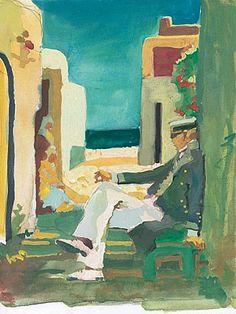 Hugo Pratt - Corto Maltese Maltese, Comic Book Artists, Comic Books, Hugo Pratt, Les Oeuvres, Storytelling, Watercolor Paintings, Art Drawings, Abstract