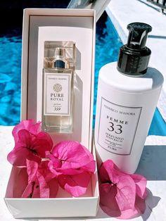 Fm 359 Fragrance inspired by Alien. Fm 33 Body Balm inspired By D&G Light Blue. Fm Cosmetics, Cosmetics & Perfume, Perfume Scents, Perfume Bottles, Fragrances, Light Blue Perfume, Perfume Quotes, Shops, The Balm