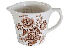 English Royal Crownford Measuring Cup on OneKingsLane.com #DebraHallLifestyle