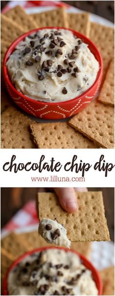 Chocolate Chip Dip -