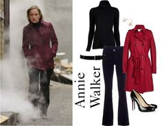 Annie Walker Op - Fashion From Covert Affairs - All Yours Styling #CovertAffairsSweepsEntry