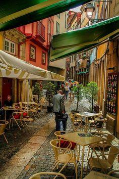 Old quarter, Oporto, Portugal Portugal Destinations, Portugal Vacation, Portugal Travel, Visit Portugal, Spain And Portugal, Places To Travel, Places To Visit, Porto City, Portuguese Culture