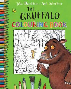 The Gruffalo Colouring Book (Paperback). The Gruffalo is a modern classic and one of the most popular picture books of recent years, with over Gruffalo Party, The Gruffalo, Colouring Pages, Coloring Books, Axel Scheffler, Reading Projects, Drawing Activities, Book People, Monster Party