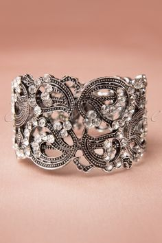 Crystal Cuff Bracelet-- For those more dressy occasions