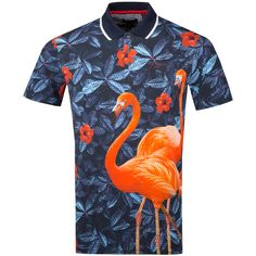 c16427d2 A fun polo for the golfer seeking the ultimate Ted Baker polo. Sporting a  graphic