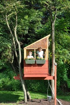 Tree house idea that we could actually do!
