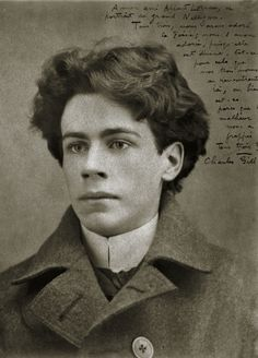 Émile Nelligan, age 20 in 1899. First published at 16, this French-Canadian poet suffered a mental breakdown the same year this photograph was taken. He never recovered.  Submitted by Anna