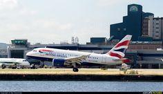 G-EUNB British Airways Airbus A318