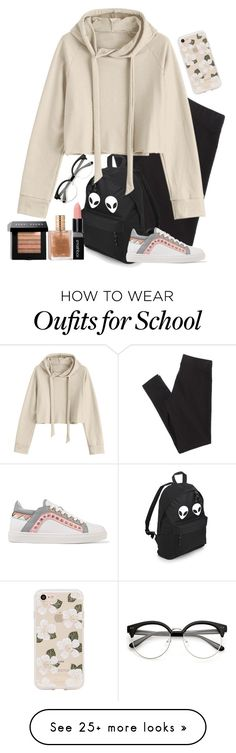 """Untitled #2478"" by pageinabook on Polyvore featuring American Eagle Outfitters, Sophia Webster, Sonix, Smashbox and Bobbi Brown Cosmetics"