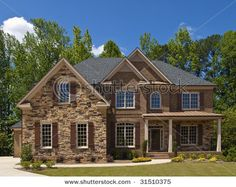 Stone And Brick Houses Exterior Luxury Homes