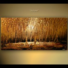 forest painting - Buscar con Google