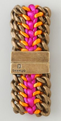 Dannijo bracelet... must figure out how to make...
