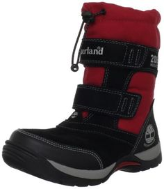 Timberland Mallard Snow Squall Boot (Toddler/Little Kid/Big Kid) Timberland. $59.12. Rubber sole. Waterproof suede and textile upper. Brushed nylon footbed cover. Water-tight construction200 grams of Primaloft insulation. Two hook-and-loop straps. OrthLite footbed. Suede and fabric