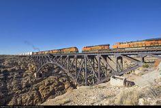 RailPictures.Net Photo: BNSF 8384 BNSF Railway GE ES44C4 at Canyon Diablo, Arizona by David Carballido-Jeans