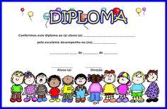 Muitos modelos de diplomas para Formatura da Educação Infantil e formatura do ABC - diplomas prontos para imprimir - ESPAÇO EDUCAR
