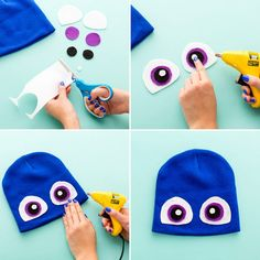 This easy DIY project for making your own Finding Dory costume is perfect for your next Halloween party. #partner