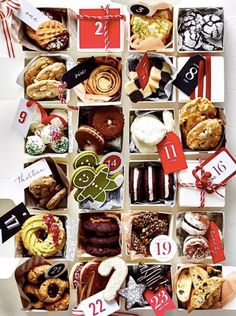 Introducing the Williams Sonoma Cookie Countdown It's December which means the countdown to Christmas is officially on. It also means that it's time to prepare for a… Best Holiday Cookies, Holiday Cookie Recipes, Holiday Baking, Christmas Baking, Christmas Recipes, Winter Christmas, Delicious Cookie Recipes, Best Cake Recipes, Easy Cookie Recipes