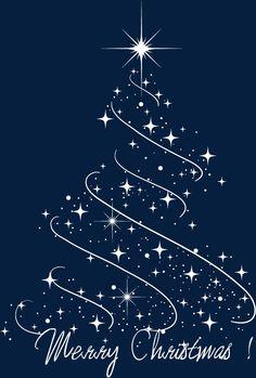 Star christmas tree Vector and PNG Christmas Tree Printable, Christmas Card Images, Merry Christmas Quotes, Christmas Svg, Christmas Pictures, Christmas Greetings, Merry Christmas Calligraphy, Illustration Noel, Christmas Snow Globes