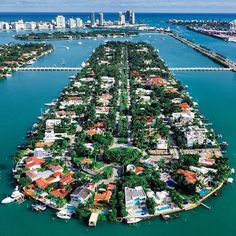 "dronenerds: ""Man made island living Miami style Space Photography, Drone Photography, City From Above, Phantom 4, Aerial Drone, Winter House, Cool Pictures, City Photo, Photos"