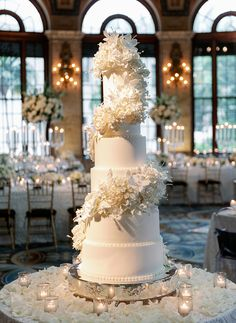 Wedding Cake Display, Pretty Wedding Cakes, Luxury Wedding Cake, Elegant Wedding Cakes, Wedding Cake Designs, Our Wedding, Dream Wedding, White Tall Wedding Cakes, Large Wedding Cakes