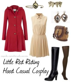 Little Red Riding Hood Casual Cosplay  I realise it's not strictly a cosplay,